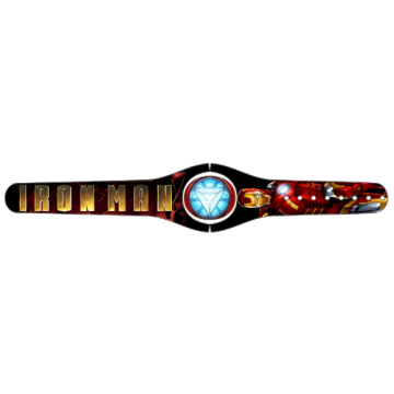 Custom Iron Man MagicBand 2 Skin