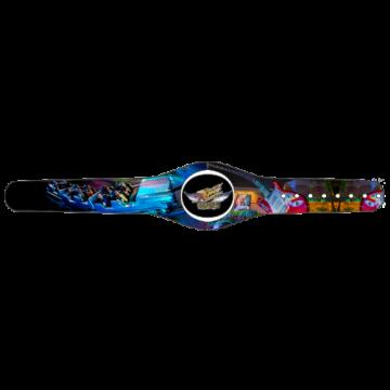 Rock N Roller Coaster Custom MagicBand Skin