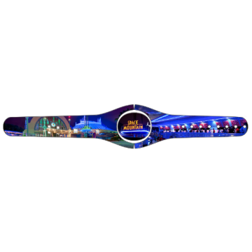 Custom Space Mountain Magic Band Skin