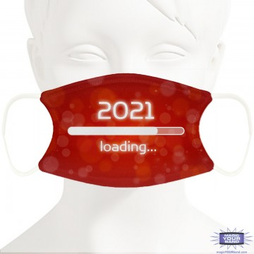 Loading 2021 Face Mask - Personalizable