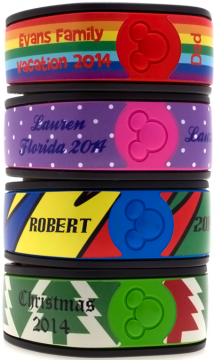 Design your own 2-piece MagicBand Skin