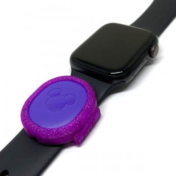 Purple MagicBand Puck Holder/Adapter