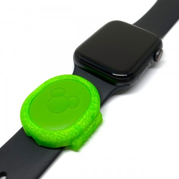 Green MagicBand Puck Holder/Adapter