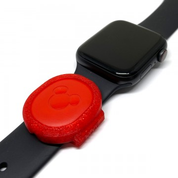 Red MagicBand Puck Holder/Adapter