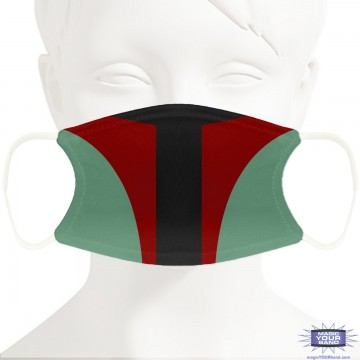 Bounty Hunter Face Mask - Personalizable