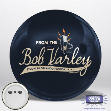 From the Bob Varley Studio Personalizable Park Button