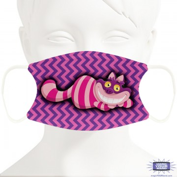 Wide-smiling Cat Face Mask - Personalizable