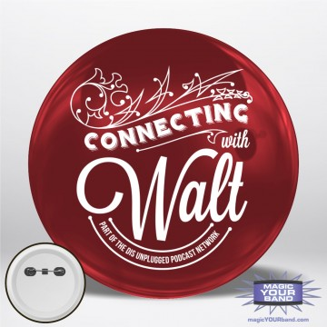 Connecting With Walt Personalizable Park Button
