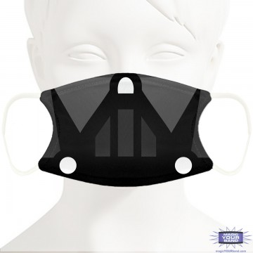 Dark Lord Face Mask - Personalizable