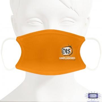 DIS Unplugged Orange Face Mask - Personalizable