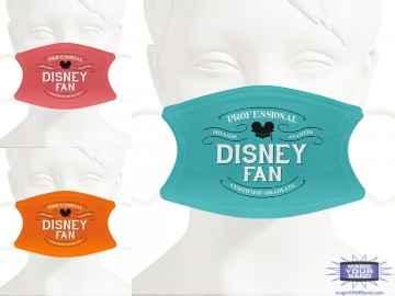 Professional Disney Fan Face Mask- Personalized