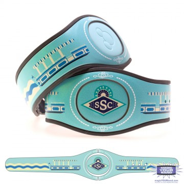 Transportation Series - Sassagoula Steamboat Company MagicBand 2 Skin