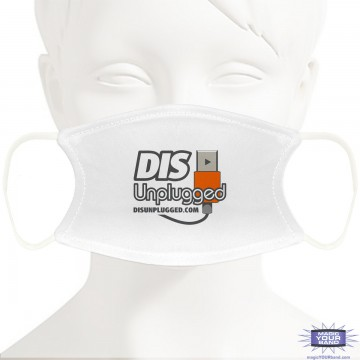 Retro DIS Unplugged Face Mask - Personalizable