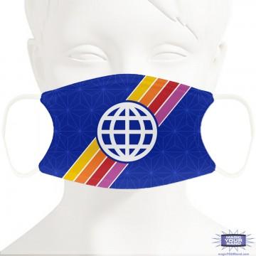 Retro Epcot Face Mask - Personalized