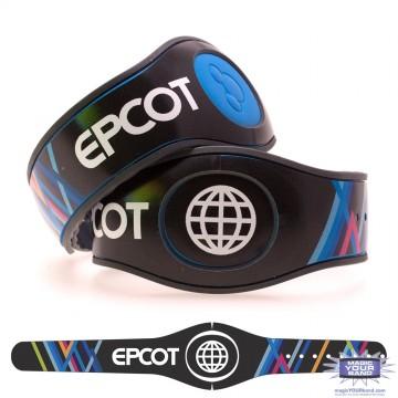 Epcot Wall MagicBand 2 Skin