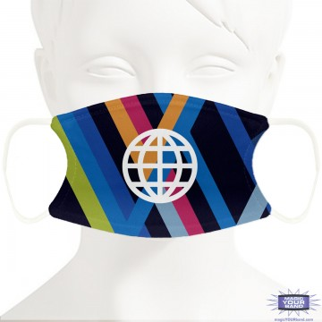 Epcot Wall Face Mask - Personalized