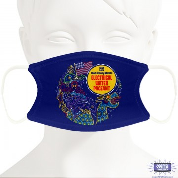 Water Electric Show Face Mask - Personalizable