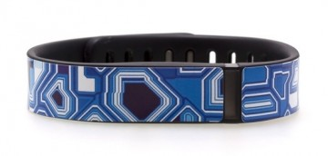 Techno Blue Fitbit Flex Skin