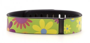 Flower Power Fitbit Flex Skin