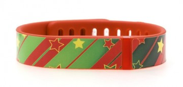 Christmas Wrapping Fitbit Flex Skin