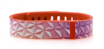 Abstract Triangles Pink Fitbit Flex Skin