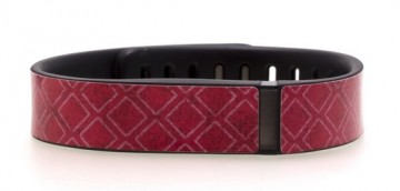 Pink Squares Fitbit Flex Skin