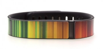 Red to Green Fitbit Flex Skin