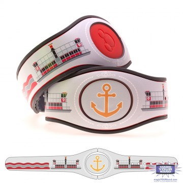 Transportation Series - Seven Seas Ferry MagicBand 2 Skin