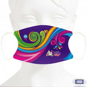 Give Kids The World Charity Design Face Mask - Personalized