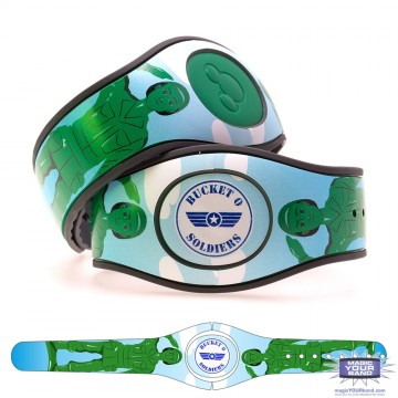 Green Toy Soldier MagicBand 2 Skin