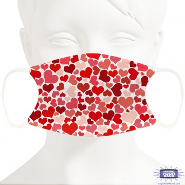 Have A Heart Face Mask - Personalizable