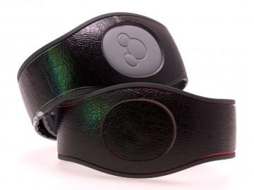 Leather Effect Black MagicBand 2 Skin