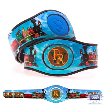 Steam Train Red MagicBand 2 Skin