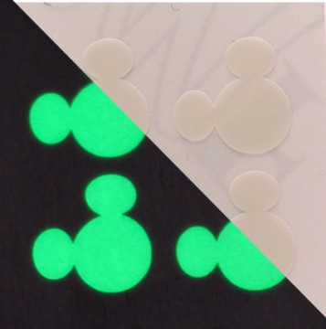 Glow in the Dark MagicBand Icon Stickers