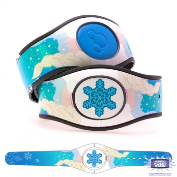 Ice Queen (Costume) MagicBand 2 Skin