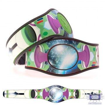 Toy Spaceman (Costume) MagicBand 2 Skin