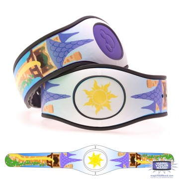 Fairytale Tower MagicBand 2 Skin