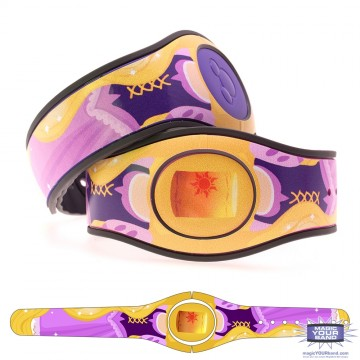 Fairytale Princess in Purple (Costume) MagicBand 2 Skin