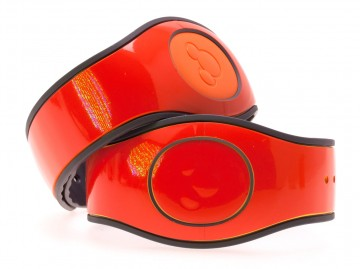 Orange Gloss MagicBand 2 Skin
