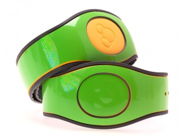 Lime Green Gloss MagicBand 2 Skin