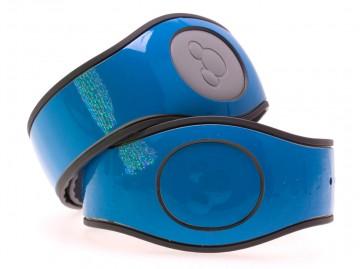 Ocean Blue Gloss MagicBand 2 Skin