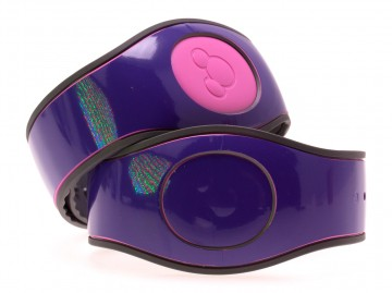 Purple Gloss MagicBand 2 Skin