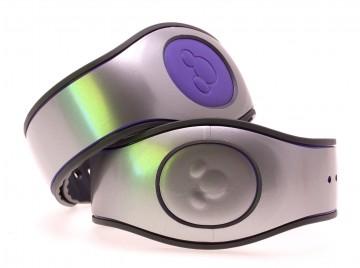 Silver Gloss MagicBand 2 Skin