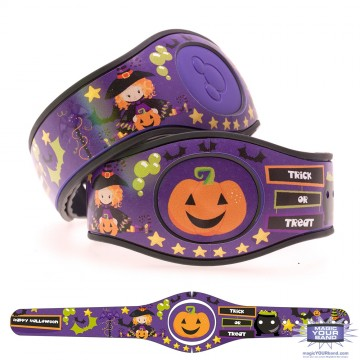 Trick or Treat MagicBand 2 Skin