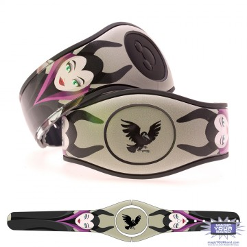 Mistress of All Evil (Character) MagicBand 2 Skin