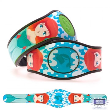 Mermaid Princess (Character) MagicBand 2 Skin