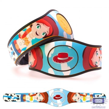 Toy Cowgirl (Character) MagicBand 2 Skin