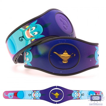 Genie from the Lamp (Character) MagicBand 2 Skin