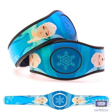 Ice Queen (Character) MagicBand 2 Skin