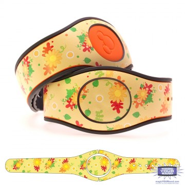 Autumn Fall Flowers MagicBand 2 Skin